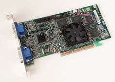 """the millennium g400 max was the last real competitive matrox video card. the matrox """"dualbus"""" gave the highest memory bandwidth until the geforce256 ddr. practically meant, it was faster than the nvidia tnt2 ultra at higher resolutions. the 2d and the 3d image quality was the best on the market. this period was the last, when five manufacturers (nvidia, 3dfx, matrox, ati, s3) could create high performance video cards, two years later just the nvidia and the ati remained on this market. Video Card, Resolutions, 2d, Period, Retro, Create, Cards, Image, Instagram"""