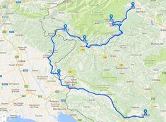 Route Slovenië