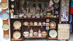 Veliko Tarnovo - Samovodska Charshiya - the numerous antiquarian and souvenir shops offer unique pieces of art and ancient jewellery, ceramics and woodcarving.#Bulgaria #goodatservice.com