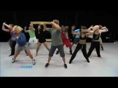 Ellen Practicing her dance moves with So You Think You Can Dance top 10 dances