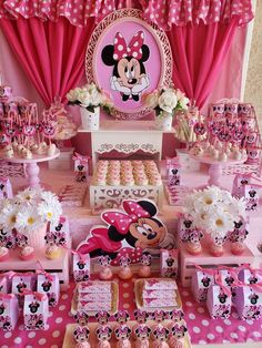18 Ideas For Birthday Dress Ideas Minnie Mouse Minie Mouse Party, Minnie Mouse Theme Party, Mickey Mouse Clubhouse Birthday, Mickey Party, Mickey Mouse Birthday, Mouse Parties, Pirate Party, Minnie Mouse Dresses, 2nd Birthday
