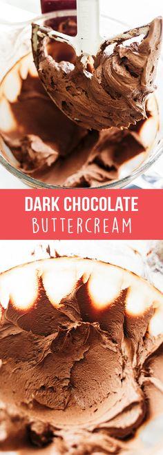 Dark Chocolate Buttercream - Handle the Heat