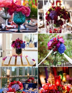 Jewel Tone Decor