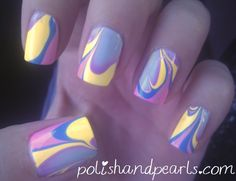 HowTo: Perfect Water Marble Nail Art