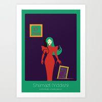 Art Print featuring Found in Translation - Shlimazl by Anjana Iyer