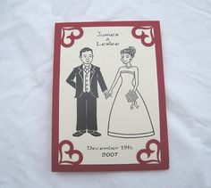 Homemade Wedding Invitations by This Little Bento, via Flickr