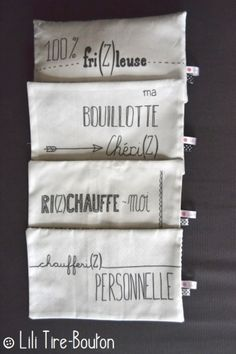 DIY Gifts And Wrap 2018 bouillotte sèche remplie riz, tissu exclusif Lili Tire-Bouton Coin Couture, Couture Sewing, Vintage Diy, Shabby Vintage, Homemade Gifts, Diy Gifts, Sewing For Kids, Diy Projects To Try, Scrap