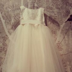Our Gorgeous flowergirl dresses!