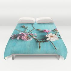 Flowers of Spring Duvet Cover by Olivia Joy StClaire | Society6