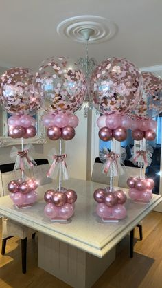 Ideas For Baby Shower Nina Videos - Nicheh Deco Baby Shower, Baby Girl Shower Themes, Girl Baby Shower Decorations, Baby Shower Balloons, Baby Shower Girl Centerpieces, Baby Showers, Balloon Arrangements, Balloon Centerpieces, Birthday Balloon Decorations