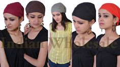 Lot of 10 Pc Cotton Hair Band Women Hair Accesories Stylish and Casual Wear