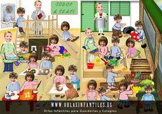 Orla Infantil Classe i Pati