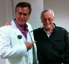 Bruce Campbell, Stan Lee