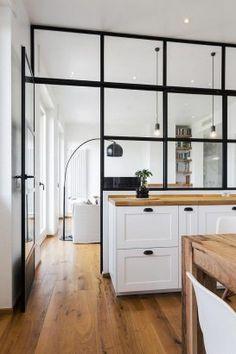 Kitchen Room Design, Interior Design Kitchen, Interior Modern, Küchen Design, House Design, Sweet Home, Open Plan Kitchen, Cheap Home Decor, Home And Living