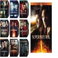 NEW Supernatural - Complete Series 1-10 (Seasons 1 2 3 4 5 6 7 8 9 10) NEW