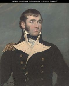 Portrait of Captain Forster - (after) Sir George Hayter Royal Navy Officer, Ages Of Man, Master And Commander, Victorian Pictures, Miniature Portraits, British History, Male Face, Female Images, Handsome