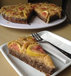 Fig Cake, Healthy Desserts, French Toast, Clean Eating, Food And Drink, Cooking, Breakfast, Exercise, Health Desserts
