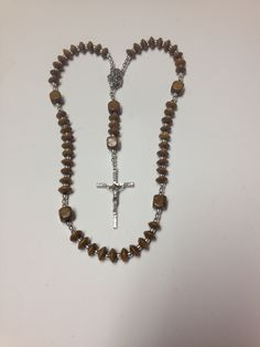 Wooden rosary.
