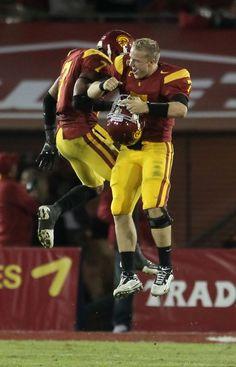 Matt Barkley and star safety T.J. McDonald          Unfinished Business