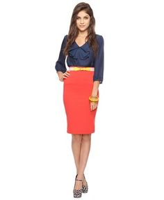 cute outfit! and I have a skirt very similar to this one already!