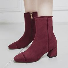 Latest New Design Fashion Women Warm Winter Daily Casual Wear Ankle Short Boots Shoes