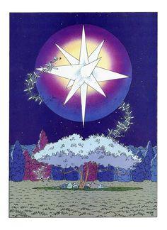 """Fantasy art by Jean """"Moebius"""" Giraud."""