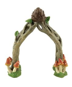 Look what I found on #zulily! Fairy Arbor Sculpture by Blossom Bucket #zulilyfinds