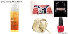 Spring 2014 Beauty Must Haves   #beautyproducts #opi #makeupbag #amybutler #mac #ladymillion #thepiggytoes