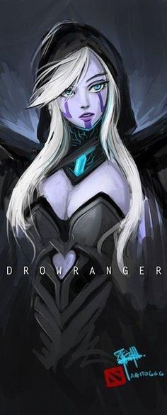 Cool album of Dota 2 hero Traxex the Drow Ranger (14)