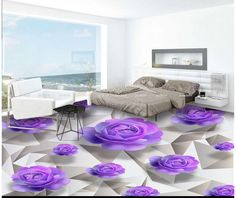 (Buy here: http://appdeal.ru/2cb9 ) Custom 3d photo wallpaper 3d flooring…