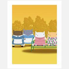 Maids print