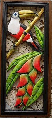 Blog de Rodrigo Calderón Avellaneda para mostrar, desde la ciudad de Bucaramanga(Colombia),sus artesanias en madera tallada,calada y pintada,con motivos de la   fauna y la flora tropical