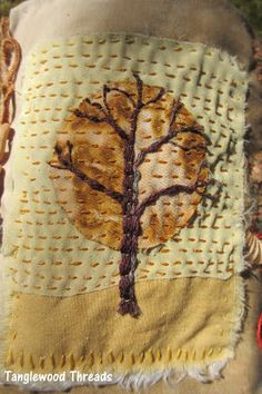 Tanglewood Threads: The End of March Scratched