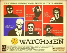 HARTTER: ALTERNATE UNIVERSE MOVIE poster for the Watchmen adaptation