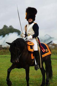 Granatiere a cavallo della guardia imperiale francese