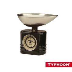 Typhoon Scales Vintage BLACK - Tableking $34.95 http://www.tableking.com.au/products/Typhoon-Scales-Vintage-BLACK.html