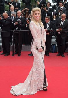 Hofit Golan in Christophe Guillarme. See all the looks from the Cannes Film Festival.