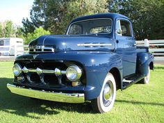 My dream car. 1951 Ford pick up. Any color will do. My Dream Car, Dream Cars, 1951 Ford Truck, Pickup Trucks, Antique Cars, Vehicles, F1, Movies, Color