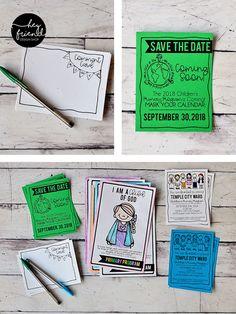 """I am a Child of God"" Primary Program Printables- Black & White. Primary Program, Temple City, Save The Date, Programming, Printables, God, Black And White, Children, Cards"