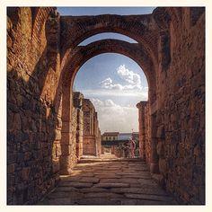 Les ruines romaines de Merida