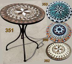 Details Zu Trendline Tisch Bretagne Mosaik Rund | Bretagne, Ebay ... Lebendige Skulpturen Im Garten Atlanta