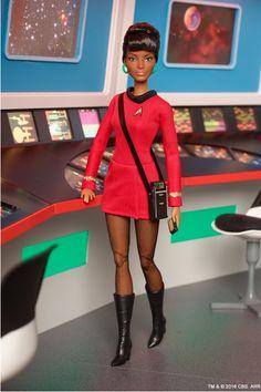Star Trek Uhura doll 2016