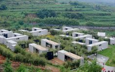 China Dallian Farm Stay - Container Homes Hotel Container, Container Homes For Sale, Building A Container Home, Container Cabin, Cargo Container, Shipping Container Conversions, Shipping Container Buildings, Shipping Container Design, Shipping Containers