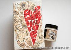 Layers of ink: Mosaic Pen Holder Tutorial