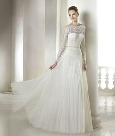 Shantal wedding dress from the Modern Bride 2015 - St Patrick collection   St. Patrick