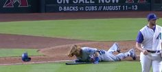 Justin Turner trips on his bat on his way to first base : Sports Highlight Friday, August 2017 Justin Turner trips on his bat on his. Justin Turner, Sports Highlights, 11 August, Baseball Field, Cubs, Bear Cubs, Puppys, Baseball Park, Tiger Cubs