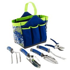 Deluxe Set - The Pampered Chef® - only $99 for all 5 tools (save $37.50) PLUS you get this gorgeous garden ore or FREE!!!  Bags like this retail for over $30 from other companies!  Available until April 30 and will arrive time for Mother's Day!