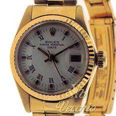 Relógio: #Rolex,  Modelo: #Date #Lady,  Caixa:Ouro,  Movimento:Automático,  Mostrador:Branco,  Vidro:Acrílico,  Gênero:Feminino,  Pulseira:Oyster Ouro,  Tamanho da Caixa:25 mm,  Ano:1979  por R$19990,00  #Whatches #Jelwery
