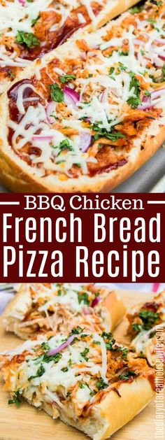 Diner Recipes, Pizza Recipes, Beef Recipes, Chicken Recipes, Chicken Meals, Easy Recipes, Easy Bbq Chicken, Chicken Pizza, French Tips