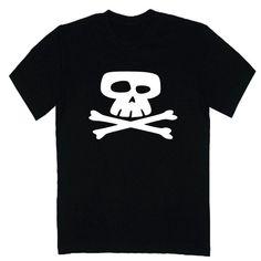 T-shirt męski - czacha z FamilyInBlack.pl